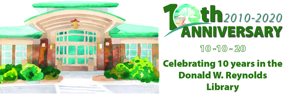 10th Anniversary illustration banner