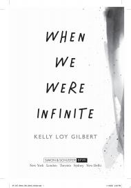 "Image for ""When We Were Infinite"""