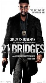 "Cover image for ""21 Bridges"""