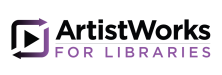 ArtistWorks for Libraries logo