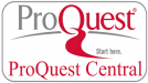 Proquest Central logo button